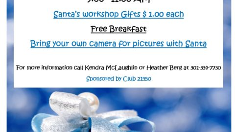 Club 21550 Breakfast with Santa
