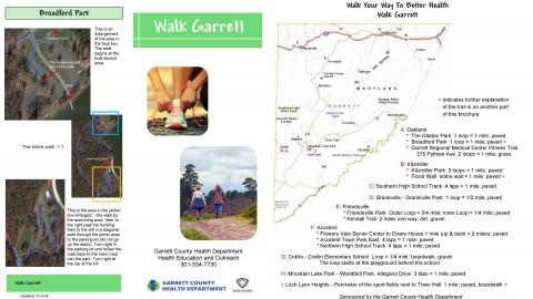Check out the new Garrett Walks brochure!