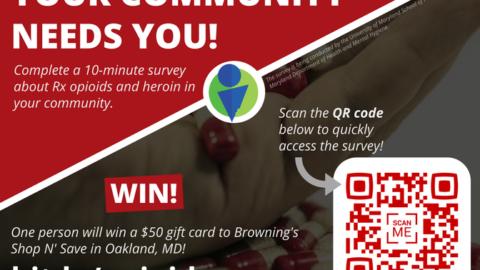 New community survey available!