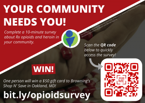 New community survey available!