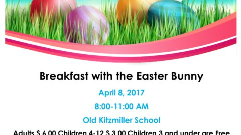 Kitzmiller Empowerment Group Breakfast with the Easter Bunny