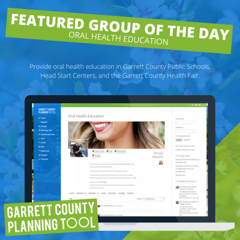 Featured Group of the Day – Oral Health Education