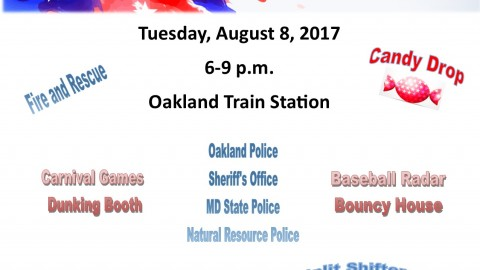 Oakland\'s Night Out   August 8, 2017 6-9pm