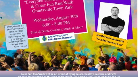 """Everyone Has a Story"" Event & Color Fun Run/Walk"