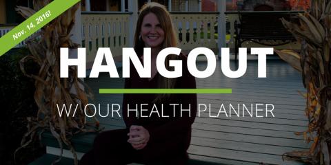 Health Planning Hangout #1
