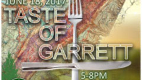 SAVE THE DATE for Taste of Garrett!