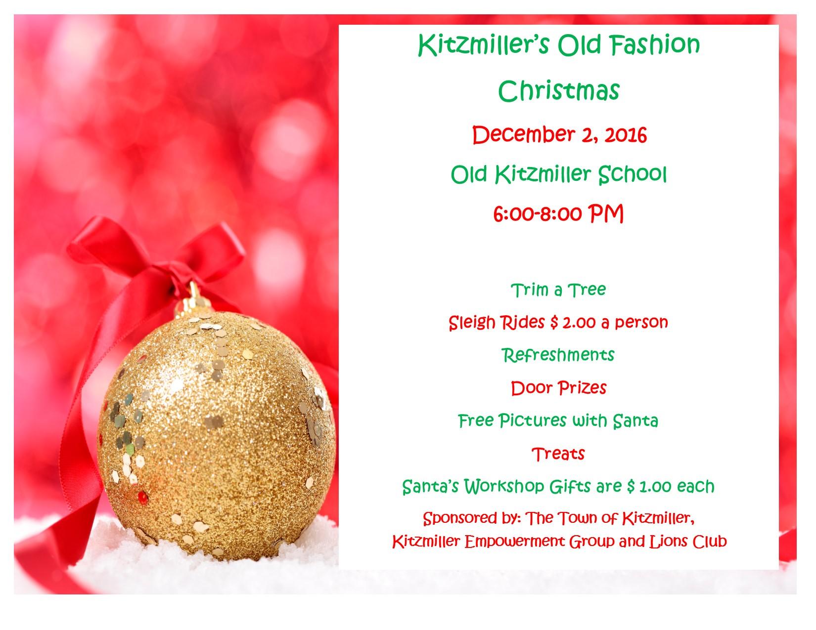Kitzmiller Old Fashion Christmas - MyGarrettCounty.com
