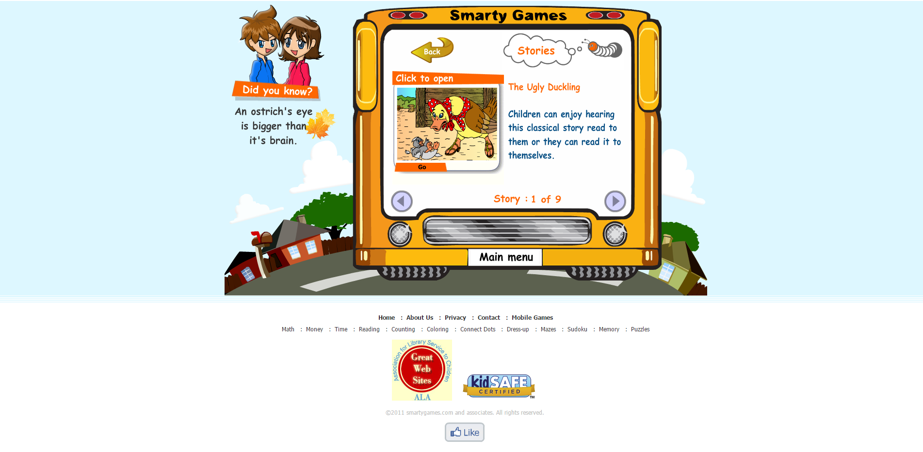 Read Smarty Games