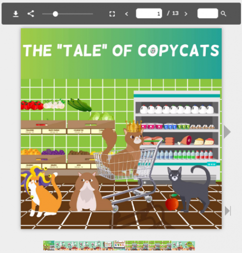 """The Tale of Copycats"" has just been released!"