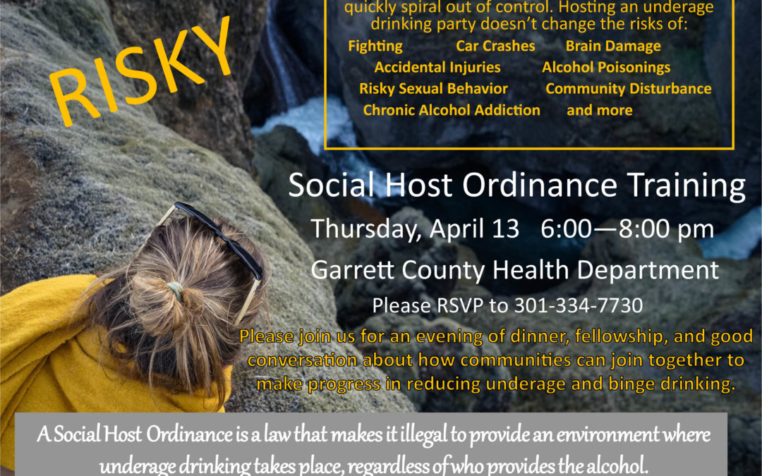 Social Host Ordinance Meeting
