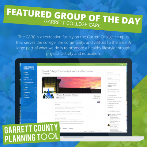 Featured Group of the Day – Garrett College CARC