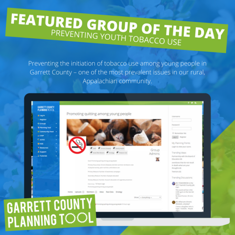 Featured Group of the Day – Preventing Youth Tobacco Use