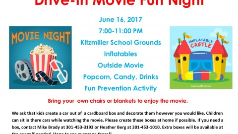 Kitzmiller Empowerment Group Drive-In Movie