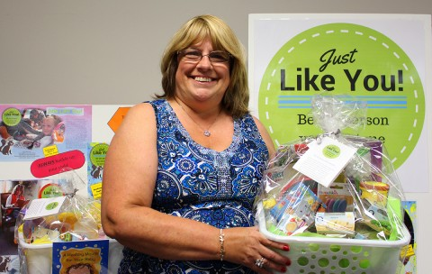 Check out the Just Like You! display at tomorrow's Community Baby Shower!