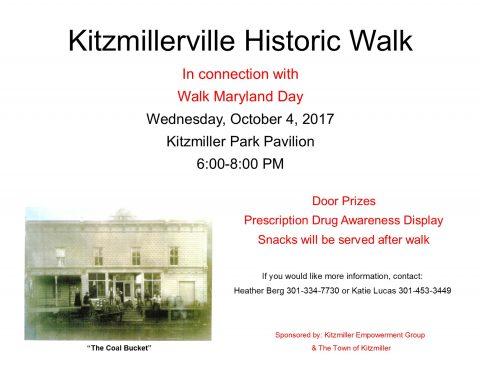 Kitzmillerville Historic Walk