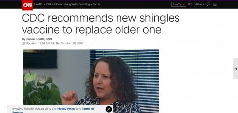 New Shingles Vaccine on the horizon