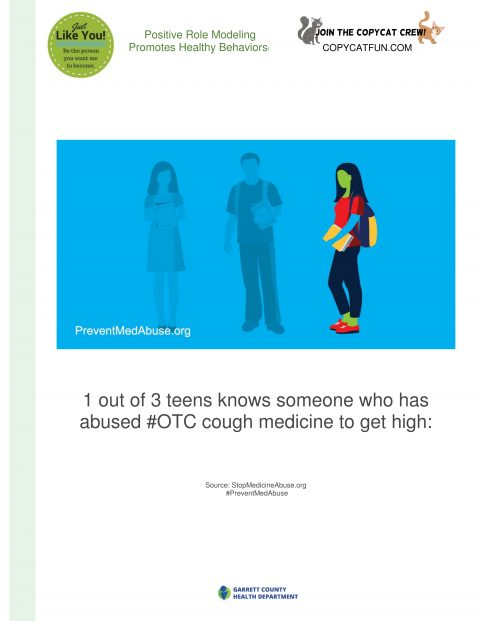 1 out of 3 teens knows someone who has abused #OTC cough medicine to get high: