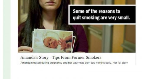 Some of the reasons to quit smoking are very small.