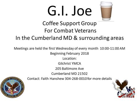 Coffee Support Group For Combat Veterans
